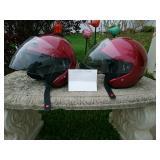 2 womens helmets small