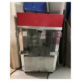 popcorn machine bar size