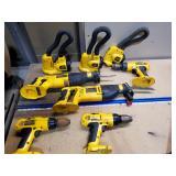 dewalt tools w/batteries