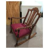 rocking chair/100 yrs old
