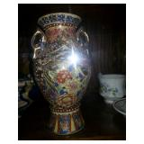 Antique hand painted Vase