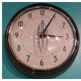 Retro Diner Clock