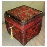 Wood Polish handmade lock box