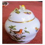 Herend rothchild ginger jar