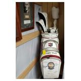 Autographed Golf Bag