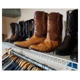 Custom Boots & Suits