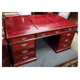 Antique Partner Desk