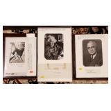 Autographs - Twain, Einstein, Truman