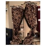 Custom draperies