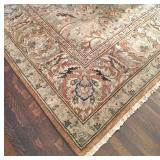 10'x14' newer hand knotted wool rug