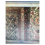 Fine Tabrese Oriental Rug 9X12 Excellent condition detail