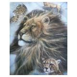"""Ruane Manning """"Pride"""" Print matted and framed close"""