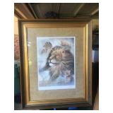 """Ruane Manning """"Pride"""" Print matted and framed"""