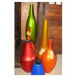 Multi Color Vases