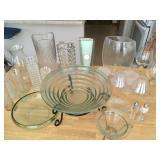 Glassware and vases