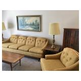 Sofa chair and tables