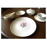 Vintage Knowles China service for 8