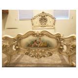 Italian Silik twin bed