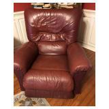LaZBoy burgundy recliner $125