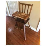 Antique high chair $50