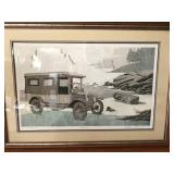 """William Coombs signed, numbered lithograph """"Memories"""" $75"""