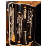 Clarinet, flute, violin