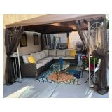 SOLD - Outdoor sectional and chairs