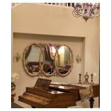 SOLD - Large gold mirror