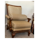 Chair with bolster