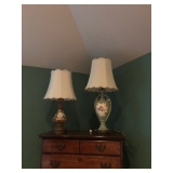 Lamps/dressers