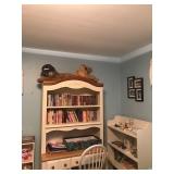 Bedroom furniture (dressers, bookshelves, bed, etc.)
