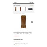 Baker Furniture Plant Pedestal (Qty 2)