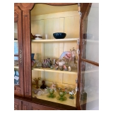 Antique French China Cabinet