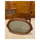 Oval Accent Table w/ Removable Tray