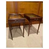 Pair of Vitrine Tables