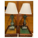 Pair of Table Lamps w/ Shades