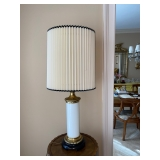 Pair of Table Lamps w/ Accordion Shade