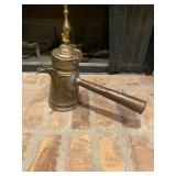 Brass Pitcher w/ Copper Handle