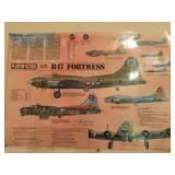 B-17 Fortress Poster