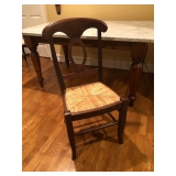Crate & Barrel Table & Chair Set (Italian Marble)