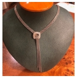 David Yurman Necklace w/ pave diamonds
