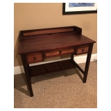 Solid Wood Desk w/ Drawers
