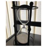 hour glass sand timer
