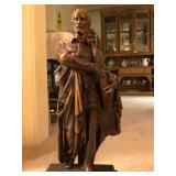 "cervantes statue 19"" tall"