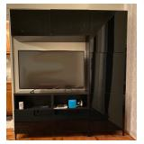 "Entertainment Center $300 71"" W 76"" H 15 ½ D"