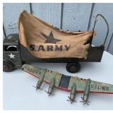 Antique Militaria Tin Toys