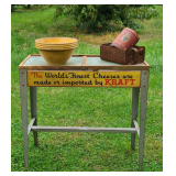 Vintage Advertising Kraft Stand and More
