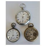 American Waltham Watch Co, & Rockford Pocketwatch