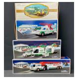 Lot of 4 Hess Trucks (NIB)