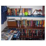Center Bedroom  Paper back books